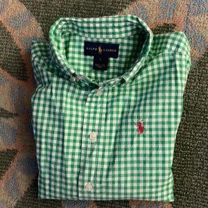 Button down long sleeve shirt
